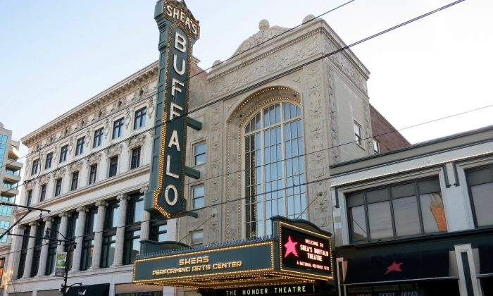 Shea's Performing Arts Center, Buffalo. (Epoch Times)