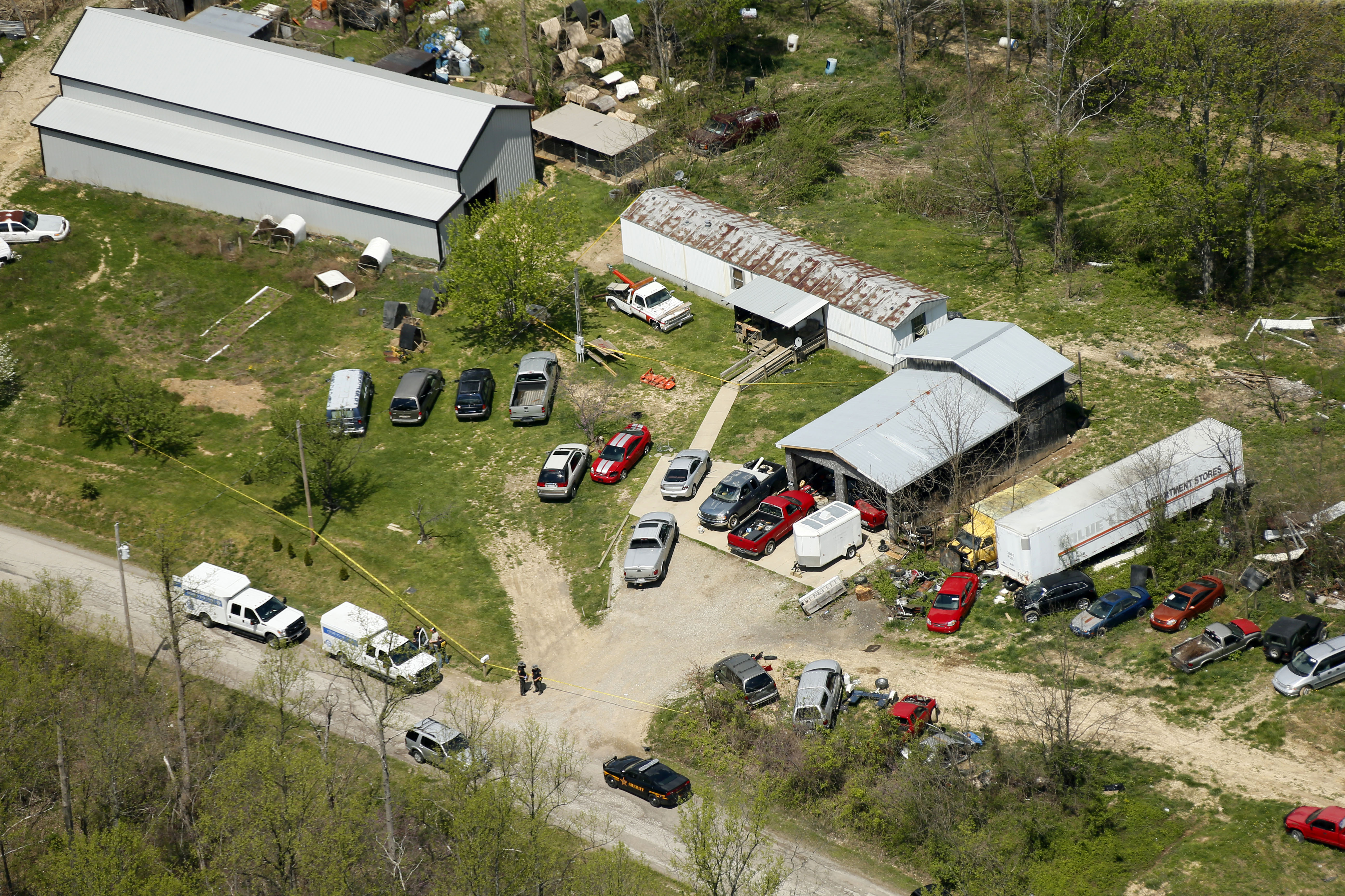 Victim in Ohio Family Massacre Had Dollar Bills Thrown on His Body, Report Says