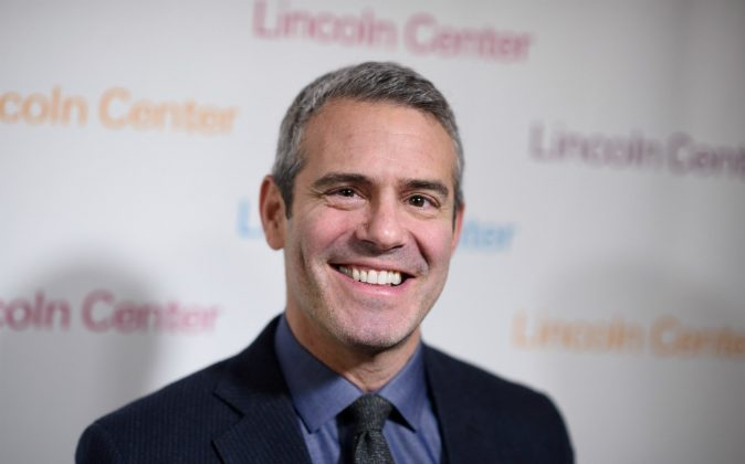 Andy Cohen arrives at Lincoln Center's American Songbook Gala Honors Lorne Michaels at Lincoln Center for the Performing Arts on February 11, 2016 in New York City. (Photo by Dave Kotinsky/Getty Images)