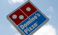Domino's Delivers Pizza to Man on Train