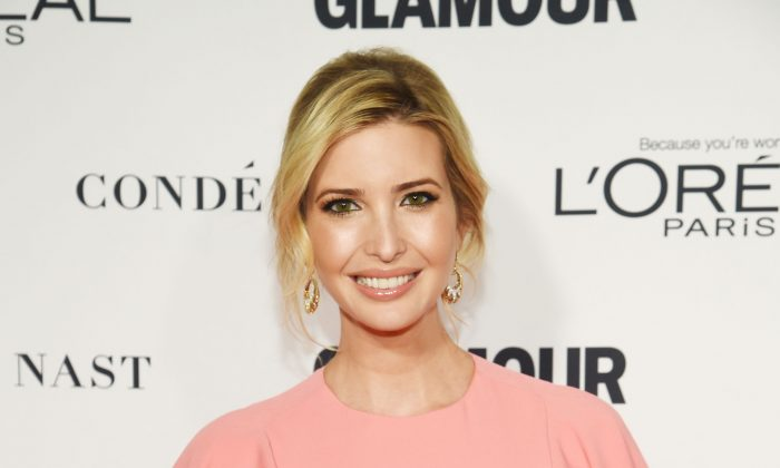 Ivanka Trump attends 2015 Glamour Women Of The Year Awards at Carnegie Hall on November 9, 2015 in New York City.  (Photo by Dimitrios Kambouris/Getty Images for Glamour)