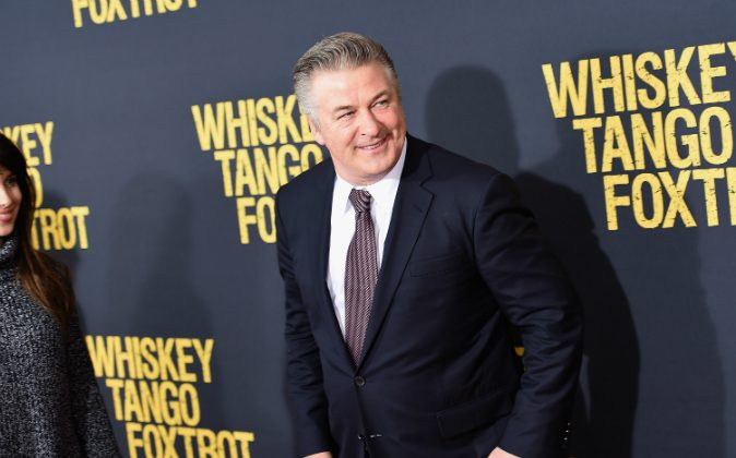 Actor Alec Baldwin attends the 'Whiskey Tango Foxtrot' world premiere at AMC Loews Lincoln Square 13 theater on March 1, 2016 in New York City. (Photo by Nicholas Hunt/Getty Images)