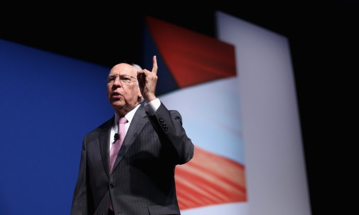 Evangelical Christian pastor Rafael Cruz, father of Sen. Ted Cruz (R-TX), addresses the Faith and Freedom Coalition's 'Road to Majority' Policy Conference at the Omni Shoreham hotel June 20, 2014 in Washington, DC.  (Photo by Chip Somodevilla/Getty Images)