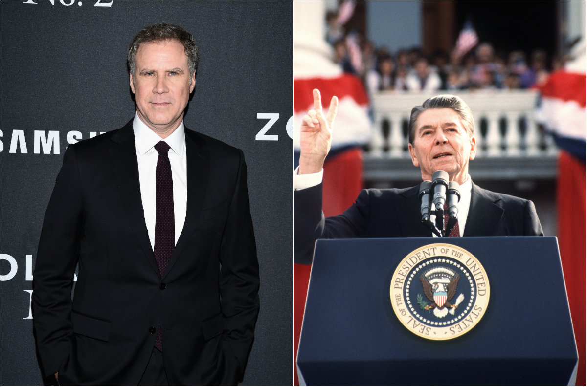 Will Ferrell Pulls Out of 'Reagan'