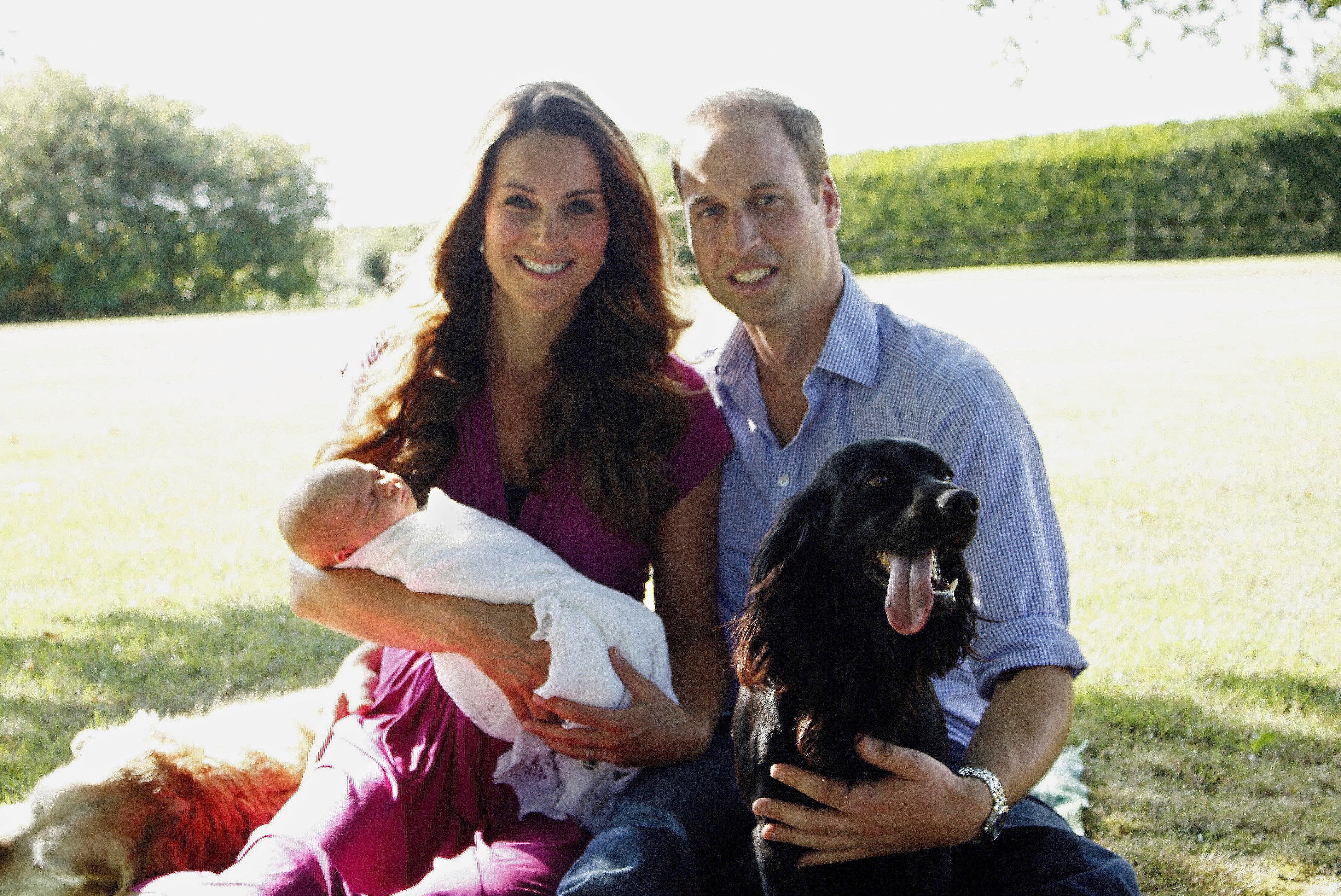 Video: Queen Elizabeth Poshly Admonishes Grandson: 'Stand up, William'