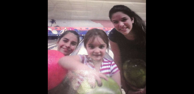 Three sisters, 4-year-old Allison Nelson, 10-year-old Anabella Gonzalez and 11-year-old Heavenlynn Gonzalez, (undated) pose for a photo. They are believed to be with 13-year-old Ashlyn Smith. (Hillsborough County Sheriff's Office via AP)