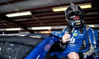 Dale Earnhardt Jr.: NASCAR Racer Drives Car With Steering Column After Steering Wheel Comes Off
