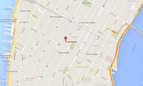 Massive Fire Ravages Manhattan Church