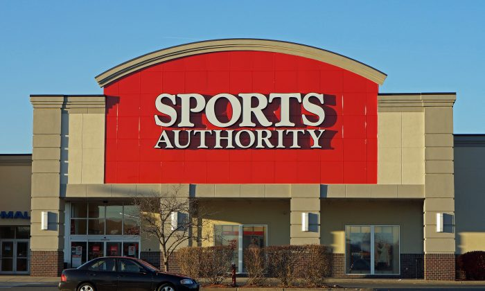 Sports Authority store, Liberty Tree Mall, Danvers, Mass., on Nov. 22, 2012. (Anthony92931/CC BY-SA 3.0)