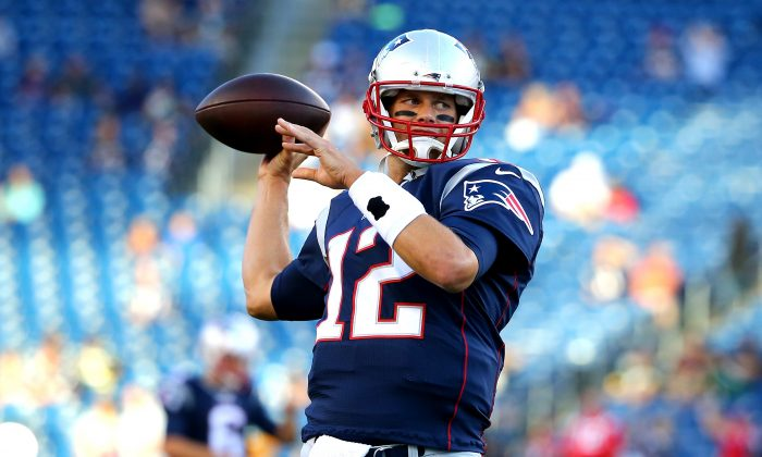 Tom Brady of the New England Patriots  (Maddie Meyer/Getty Images)