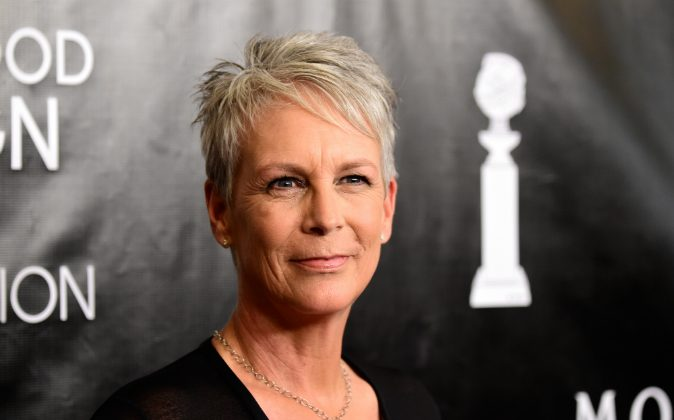 Actress Jamie Lee Curtis attends HFPA Annual Grants Banquet at the Beverly Wilshire Four Seasons Hotel in Beverly Hills, Calif., on Aug. 13, 2015. (Frazer Harrison/Getty Images)