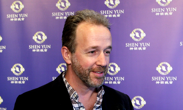 Yves Henry said he was very happy to have seen Shen Yun at the National Arts Centre in Ottawa on May 8, 2016. (NTD Television)