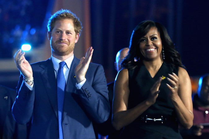 US Soldier Asks Prince Harry to Give Her Invictus Gold Medal to UK Hospital That Saved Her
