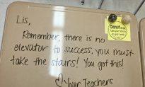 NJ Teacher Writes Encouraging Words on Students' Desks Before Exam