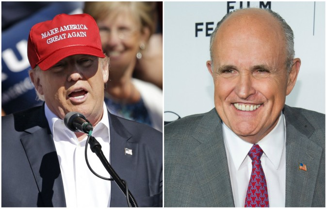 Rudy Giuliani Says Clinton Is Unfit to Be President Over Lewinsky Scandal