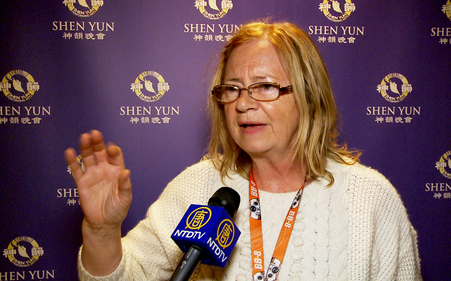 While Watching Shen Yun 'I felt at one with everything,' Says Artist