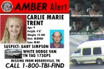 Kidnapped Carlie Trent Still in Hospital, Uncle Gary Simpson Held on $1M Bond