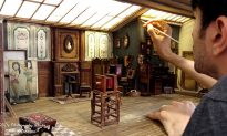 See a Teeny-Tiny Replica of an Early 1900s Photo Studio