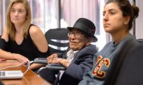 WWII Veteran Graduates College at 96 Years Old