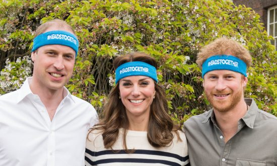 Princes William and Harry and Kate Middleton Launch 'Heads Together' Campaign to End Mental Health Stigma