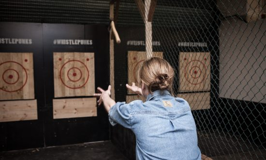 Let Off Steam With Axe Throwing in London