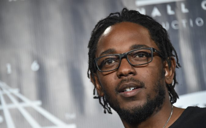 Kendrick Lamar poses in the press room at the 31st Annual Rock And Roll Hall Of Fame Induction Ceremony at Barclays Center on April 8, 2016 in New York City. (Mike Coppola/Getty Images)