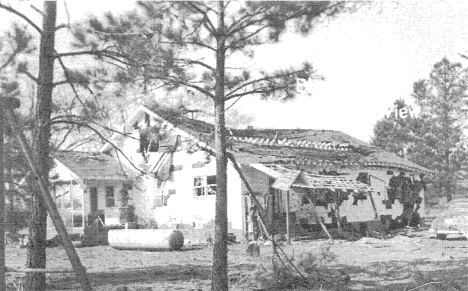 These March 11, 1958, Mars Bluff Incident photos were released back in 2012 due to a Freedom of Information Act request by Carlton Purvis. (FOIA records)