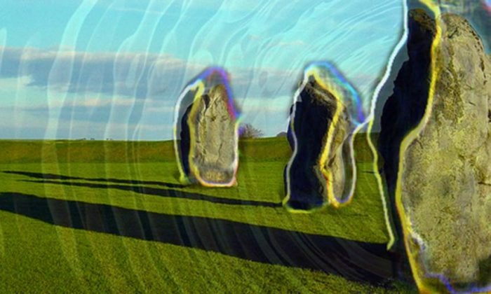 Standing stones in Avebury, Whiltshire, England. (CC BY)