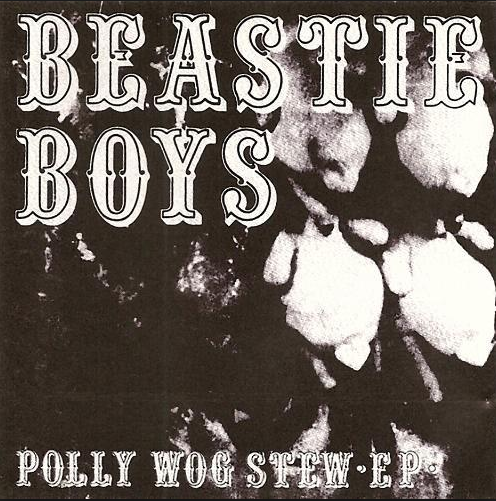 "Beastie Boys ""Polly Wog Stew"" album. John Berry was lead guitarist. (Screenshot)"