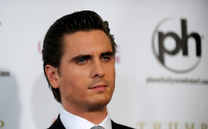Television personality Scott Disick arrives at the 2012 Miss Universe Pageant at Planet Hollywood Resort & Casino on December 19, 2012 in Las Vegas, Nevada. (David Becker/Getty Images)