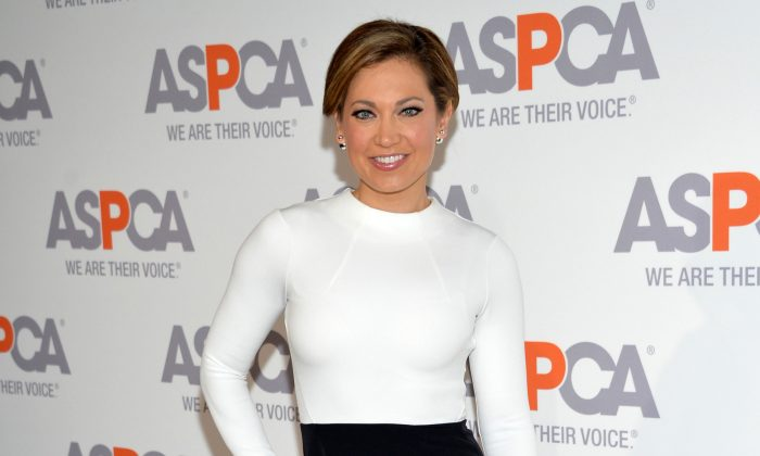 Meteorologist Ginger Zee attends the 18th Annual ASPCA Bergh Ball in New York, April 9, 2015. (Evan Agostini/Invision/AP, File)