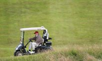 Trump Uses Climate Change as Reason to Build Wall by His Beachfront Golf Course
