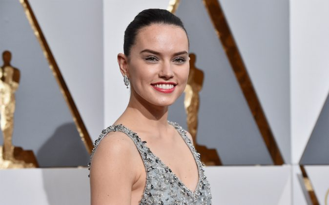 Actress Daisy Ridley attends the 88th Annual Academy Awards at Hollywood & Highland Center on February 28, 2016 in Hollywood, California. (Kevork Djansezian/Getty Images)