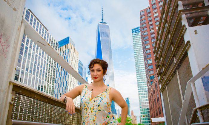 Helaina Hovitz near the World Trade Center complex in New York City on May 23, 2016. (Justin McCallum)