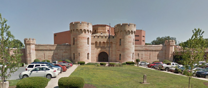 Lancaster County Jail, Pennsylvania. (Google Maps image)