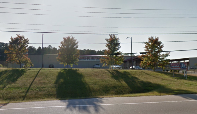 American Heritage Gun Range and Training Center, McDonough, Georgia. (Google Maps image)