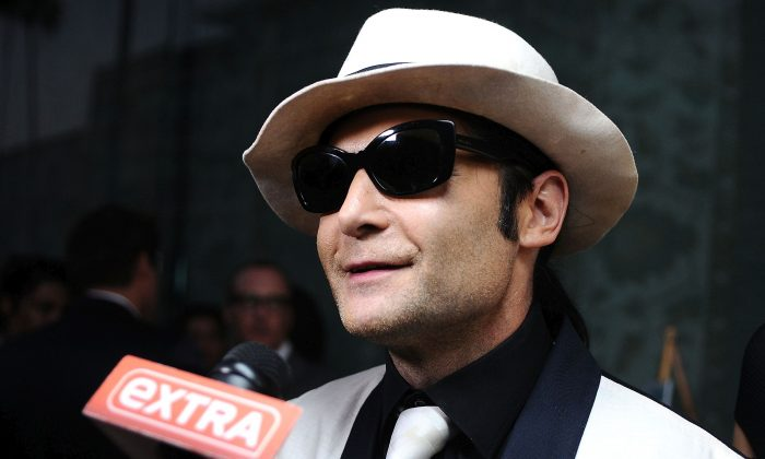 "Corey Feldman attends the Ovation TV premiere screening of ""Art Breakers"" on October 1, 2015 in Los Angeles, California.  (Photo by Araya Diaz/Getty Images for Ovation)"
