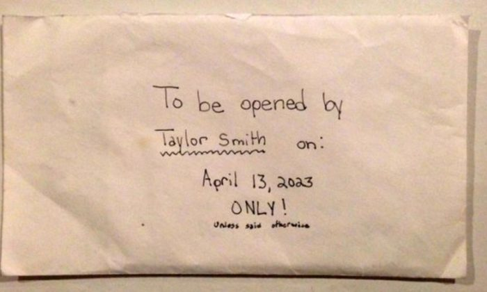 Parents Discover 12-Year-Old Daughter's Letter to Herself