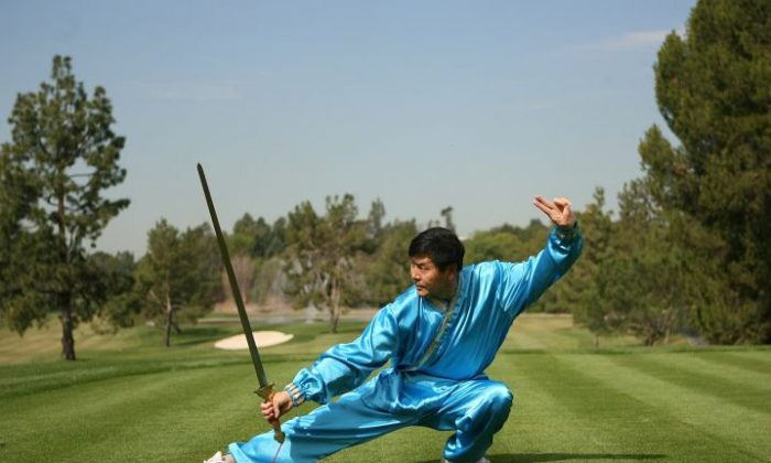 Martial Arts master Li Youfu, head judge of the NTD Television martial arts competition. (Epoch Times)