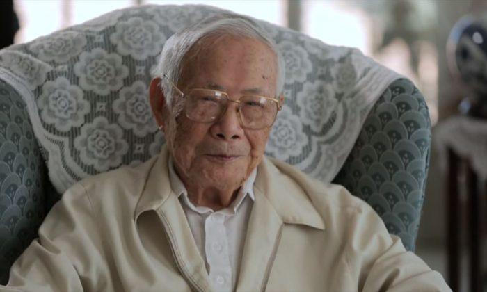 Screenshot of Xu Jiatun in the television program This Week by Hong Kong broadcaster Radio Television Hong Kong TV 31. (RTHK 31)