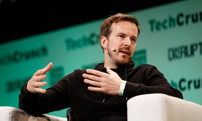 TransferWise CEO and Co-Founder Taavet Hinrikus during TechCrunch Disrupt London 2015 at Copper Box Arena on December 7, 2015 in London, England.  (John Phillips/Getty Images for TechCrunch)