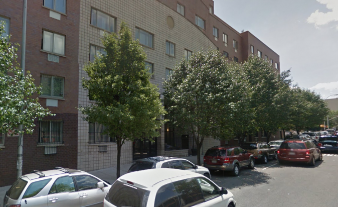 1240 Washington Avenue, Bronx, New York; The site of where attempted rapist Earl Nash was killed by Mamadou Diallo, who was rushing to the aid of his wife. All charges against Diallo were dropped on Sept. 7. (Google Maps image)