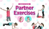 Partner Exercises: Show Kids Why It's Cool to Move