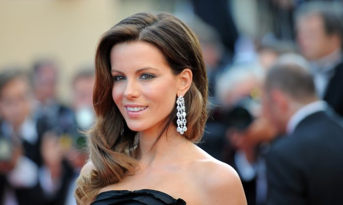 British actress Kate Beckinsale arrives for the closing ceremony at the 63rd Cannes Film Festival on May 23, 2010 in Cannes.   (Martin Bureau/AFP/Getty Images)
