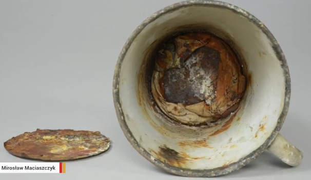 Auschwitz Museum Discovers Double Bottom Cup With a Ring Hidden Inside (Video)