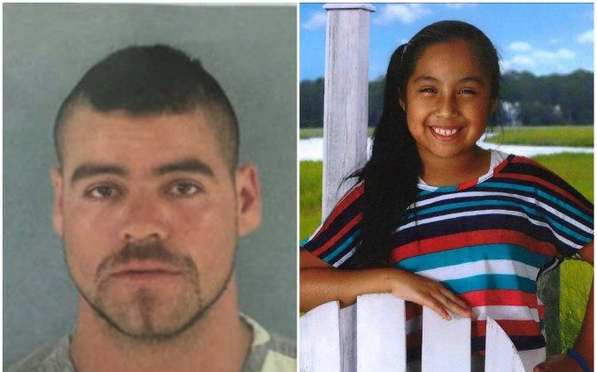 28-year-old Jorge Guerrero has been detained after it was believed he was with missing 9-year-old Diana Alvares, who was last seen on May 29 in Fort Myers, Florida. (Lee County Sheriff's Office photos)