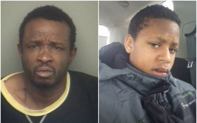45-year-old Gregory Walker has been arrested in Toledo, Ohio after being sought in connection with the abduction with 13-year-old Deontae Mitchell. (Detroit Police Department photos)