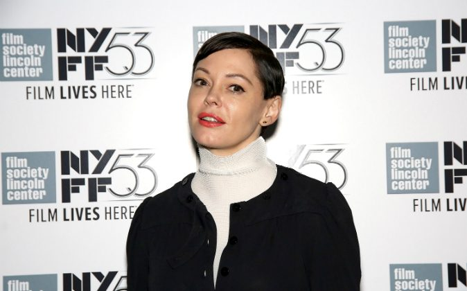 Rose McGowan attends the 53rd New York Film Festival 'NYFF Live' at Elinor Bunin Munroe Film Center on October 4, 2015 in New York City. (Paul Zimmerman/Getty Images)