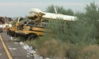 Inmates Help Injured After Prison Bus Crashes