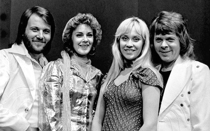 ABBA in 1974 (from left) Benny Andersson, Anni-Frid Lyngstad (Frida), Agnetha Fältskog, and Björn Ulvaeus. (Algemene Vereniging Radio Omroep/CC BY-SA 3.0)